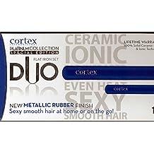 Cortex International Platinum Collection Special Edition DUO Flat Iron Set 1 ¼ + Mini ( (BLue)
