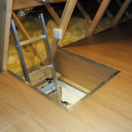 Dachbodenleiter und Aufbewahrung LOFT/kit (kit Medium) Notebooktasche