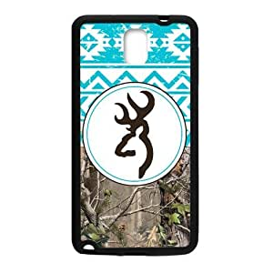 Generic Browning Cutter Blue Tribal Design Samsung Galaxy Note3 Cell Phone Cases Cover(Laster Technology) by icecream design