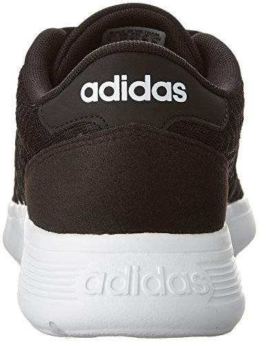 adidas Women's Lite Racer W Sneaker, Black/White, 8.5 M US by adidas (Image #2)