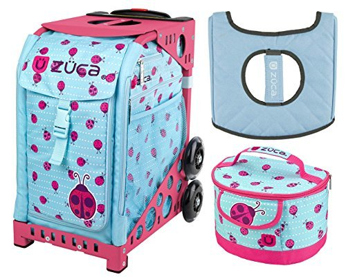 ZUCA Sport Bag - Ladybagz with Lunchbox and Seat Cover (P...