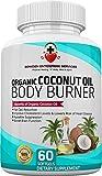 Facial Pain On Eating - 100% ORGANIC COCONUT OIL Body Burner Supplements 2000mg, Maximum Formula (60 Softgel Caps) Probiotic, Weight Loss, Thyroid, Cholesterol Maintenance, Skin, Hair, Nails, Fights Yeast, Bacteria & Fungus
