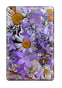 Hot Rugged Skin Case Cover For Ipad Mini 3- Eco-friendly Packaging(summer Flowers)