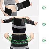 Vkaiy Lumbar Lower Back Support Brace Exercise