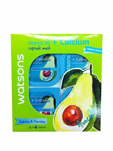 Watsons Avocado Vitamin B5 Calcium Capsule Mask Hydrating