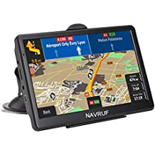 [Patrocinado] Car GPS Navigation, 7-inch 8 GB HD Touch Screen, True Voice Broadcast in Over 40 Languages, Voice-Oriented and Lifetime Free map Updates
