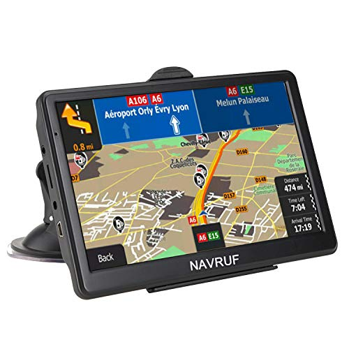 Car GPS Navigation, 7-inch 8 GB HD Touch Screen, True Voice Broadcast in Over 40 Languages, Voice-Oriented and Lifetime Free map Updates