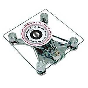 SONVADIA, Mechanical, Square Glass, Bathroom Scale.