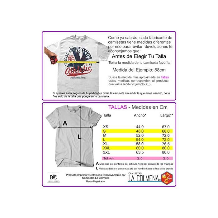 51LaQ3tDO8L Antes De Elegir Tu Talla Comprueba Las Medidas Que Aparecen A La Izquierda Debajo Del Producto Camiseta 100% Algodón, PESO: 185 g/m2 - Impresión Digital Algodón