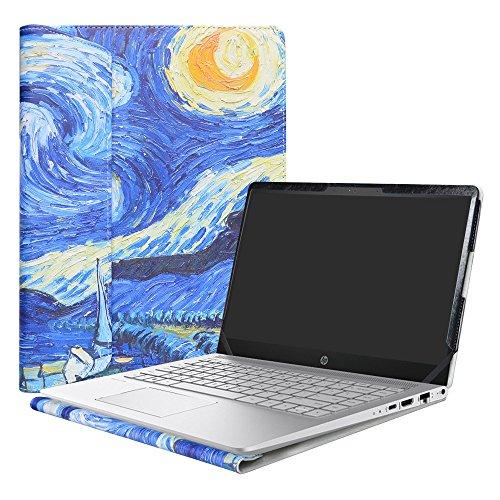 Alapmk Protective Case Cover For 14 HP Pavilion 14 14-bfXXX 14-ceXXX/Pavilion x360 14 14-cdXXX 14M-cdXXX Sereis Laptop(Not fit Pavilion 14 14-bkXXX 14-bXXX/Pavilion 14 x 360 14-baXXX),Starry Night