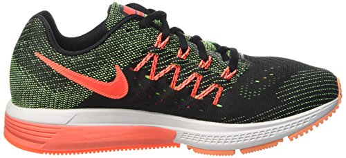 Nike Air Zoom Vomero 10 - Calzado Deportivo para hombre Negro / Verde / Rojo (Grn Strk / Brght Crmsn-Blk-Hypr)