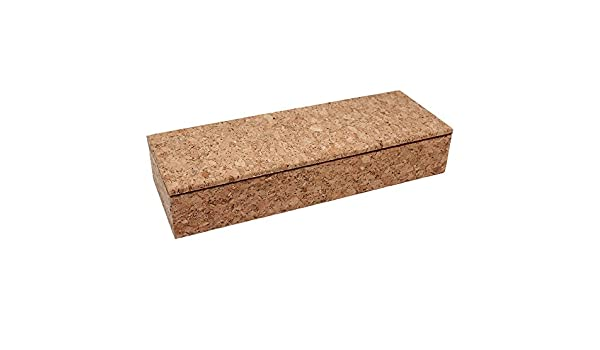 Boshiho Eco-friendly corcho natural pluma caja de lápiz papelería ...