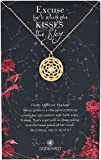 Dogeared Ancient Moon Rising Large Pattern Of Venus Gold Chain Necklace