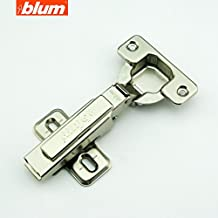 (8 Pcs) Blum Clip Top 100 Degree Standard Hinge Kitchen Cabinet Cupboard Door Hinge without BLUMOTION 71M2550, Full Overlay Hinge, Fast Assembly, Made in Austria