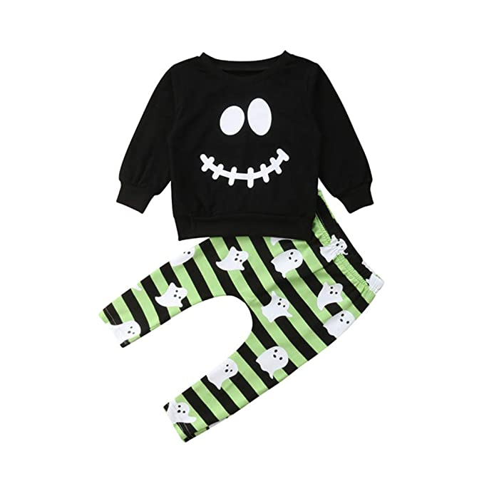 Wang-RX Halloween Baby Boys Toddler Ropa para niños Camiseta ...