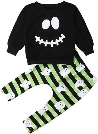 Wang-RX Halloween Baby Boys Toddler Ropa para niños ...
