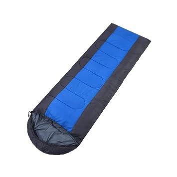 Saco de dormir LCSHAN Poliéster Humedad a Prueba de Polvo Adulto Acampar al Aire Libre Engrosamiento cálido: Amazon.es: Hogar