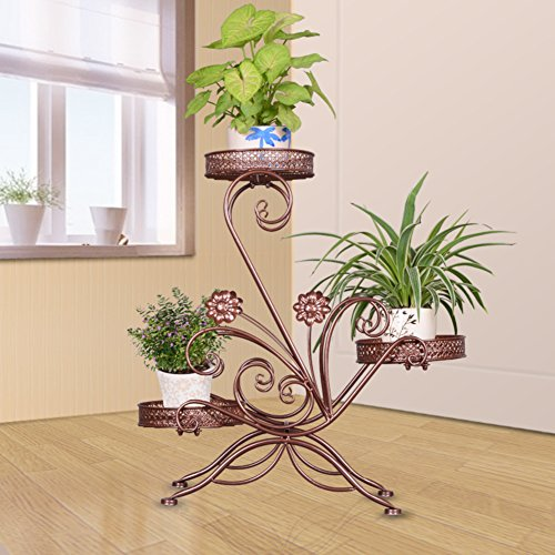 European-style flower frame creative multi-storey flower rack hanging orchid flower rack multi-functional flower shelf-A by Flower racks