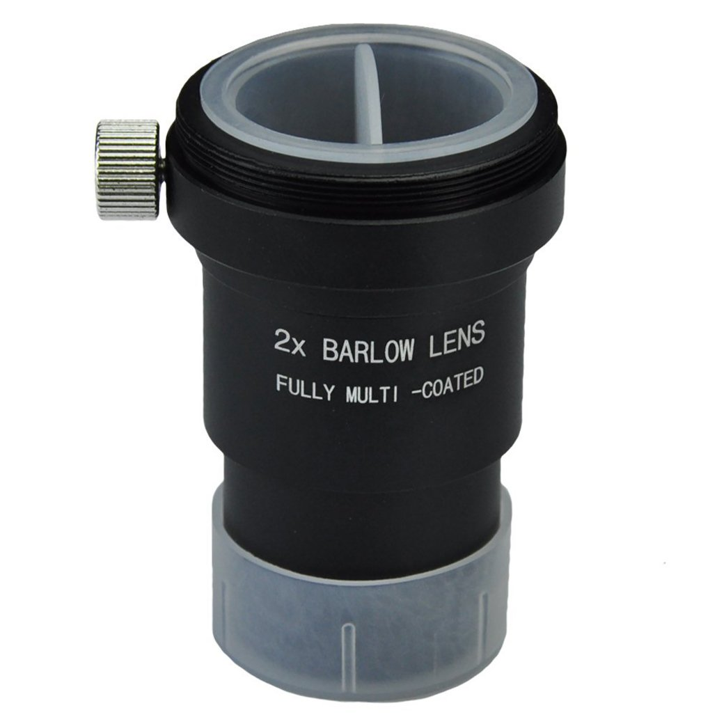 2X Full metal housing Barlow lens With T // T2 M42x0. 75 mm 25inch Filters 25 Gosky 1 Male thread for standard telescope eyepiece Astronomi- Accept 1 31. 7mm