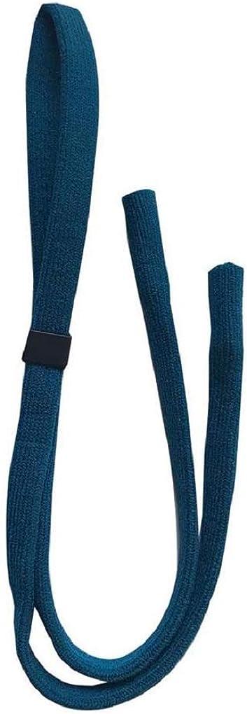 NEW Dark Turquoise Blue Adjustable Glasses Sunglasses Neck /& Head Slider Sports Strap Cord Holder