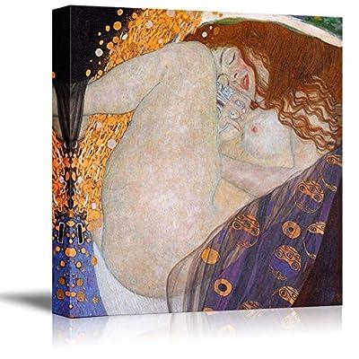 Danae by Gustav Klimt Famous Fine Art Reproduction...16