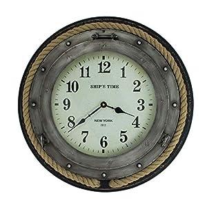 51LaTYpUhRL._SS300_ Nautical Themed Clocks