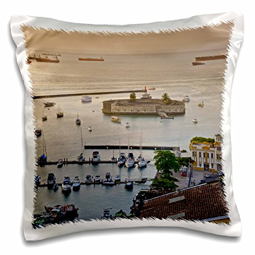 3drose-pc-216134-1-mercado-modelo-and-a-view-of-salvador-de-bahia-harbor-pillow-case-16-by-16