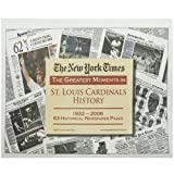 The New York Times - Greatest Moments in Cardinals History, The New York Times, 1934653047