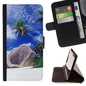 Momo Phone Case / Flip Funda de Cuero Case Cover - Naturaleza Hermosa Forrest Verde 166 - Samsung Galaxy S5 V SM-G900
