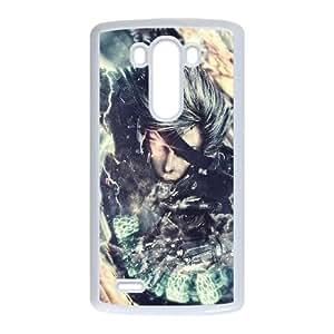 Metal Gear Rising Revengeance LG G3 Cell Phone Case White gift pjz003-9375317