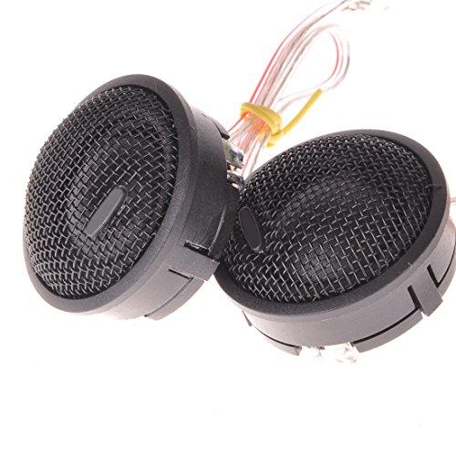 Wotefusi Speaker Tweeter Car 2 Pieces Pair 120W 92 dB 1.73
