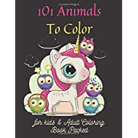101 Animals To Color for kids &