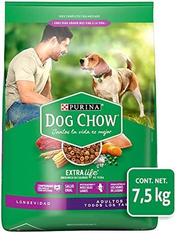 Dog Chow Comida para Perro Longevidad Senior Edad Madura Todos los Tamaños con Extralife 7.5 kg 2