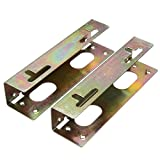 Pair of 3.5 Inch Hard Drive to 5.25 Inch Bay Mounting Bracket Adapter