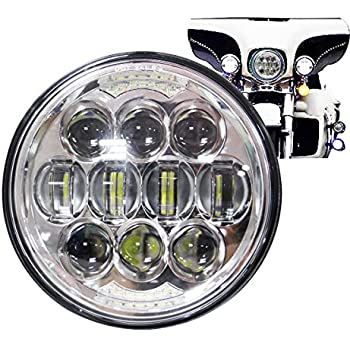 Amazon Com Motorcycle 5 3 4 5 75 Led Headlight For Harley Davidson