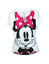 Disney Women's Minnie Mouse Tee Shirt Top