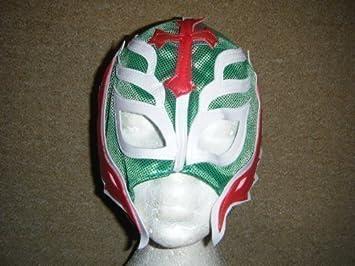 Rey Mysterio Máscara Para Niños Cremallera