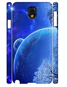 Beautiful Individualized Vintage Natural Galaxy Pattern High Impact Samsung Galaxy Note 3 N9005 Phone Case