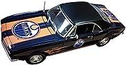 Edmonton Oilers 1967 Chevrolet Camaro 1:18 Scale Top Dog NHL Die Cast Model Auto