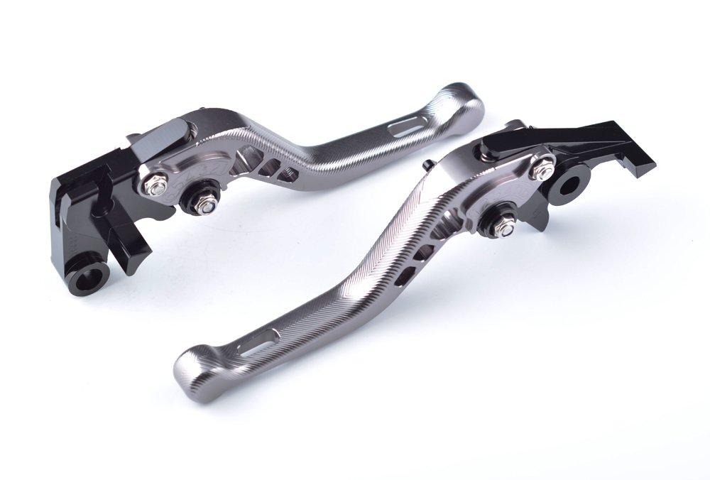 Tencasi Negro CNC 3D Ajustable corto Palanca de embrague de freno para CBR500R//CB500F//X 2013 2014 2015 2016 2017 2018
