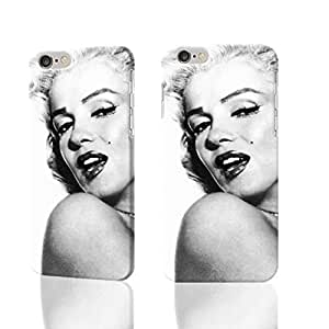 """Marilyn Monroe 3D Rough iphone 6 -4.7 inches Case Skin, fashion design image custom iPhone 6 - 4.7 inches , durable iphone 6 hard 3D case cover for iphone 6 (4.7""""), Case New Design By Codystore"""