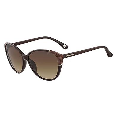 0af50715680d Amazon.com: Michael Kors Paige Sunglasses M2887S 210 Brown 58 14 135: Shoes