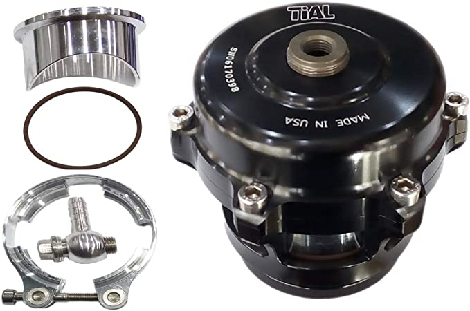 TiAL Q BOV 50mm Blow Off Valve 11 PSI Black