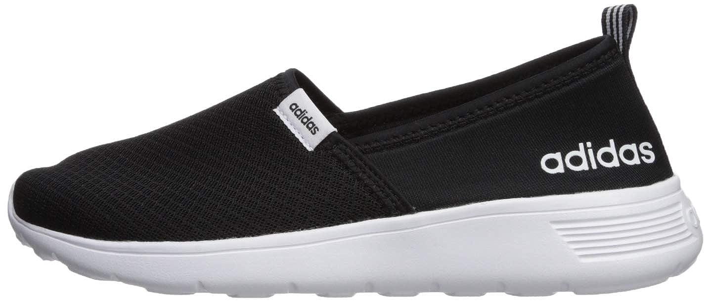 adidas NEO Women s Lite Racer Slip On W Casual Sneaker Black