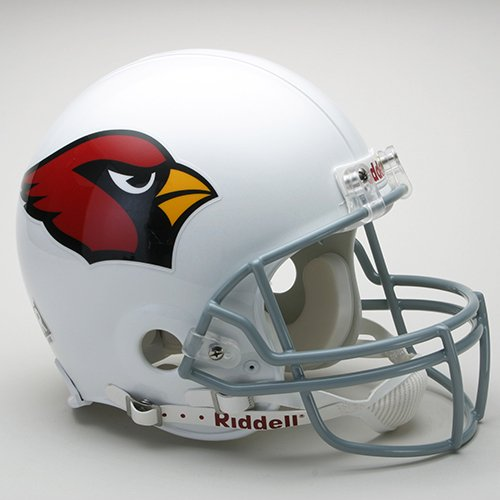 NFL Riddell Arizona Cardinals White Authentic Full-Size Helmet by Riddell