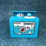 ドラえもん貯金箱 自動コイン機 電動貯金箱 マネー お金 おもしろい 可愛い プレゼント