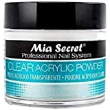 Mia Secret 1 oz Clear Acrylic Powder Professional Nail Art System