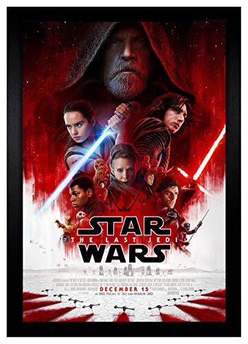 star wars poster framed - 6