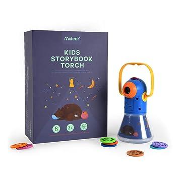 Amazon.com: Qisixsce - Proyector de historias multifunción ...