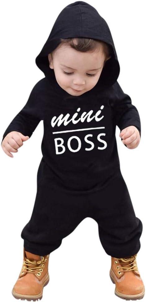 Toddler Romper Jumpsuit-RQWEIN Unisex Baby Girls Long Sleeve Bodysuit Baby Boy Hooded Button Romper Toddler Onesie